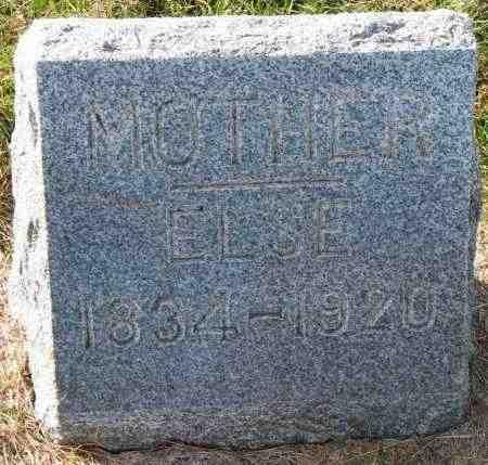 JESSEN, ELSE - Yankton County, South Dakota   ELSE JESSEN - South Dakota Gravestone Photos
