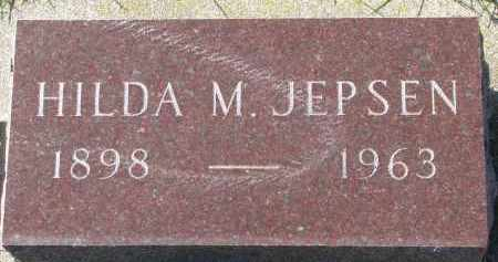 JEPSEN, HILDA M. - Yankton County, South Dakota | HILDA M. JEPSEN - South Dakota Gravestone Photos