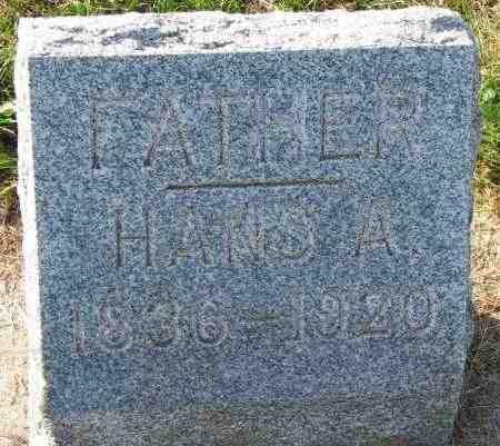 JESSEN, HANS A. - Yankton County, South Dakota | HANS A. JESSEN - South Dakota Gravestone Photos