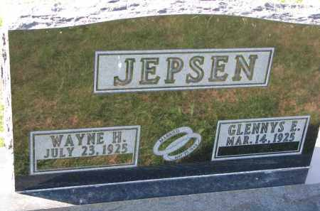 JEPSEN, GLENNYS E. - Yankton County, South Dakota | GLENNYS E. JEPSEN - South Dakota Gravestone Photos