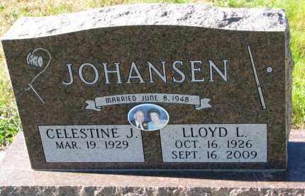 JOHANSEN, LLOYD L. - Yankton County, South Dakota   LLOYD L. JOHANSEN - South Dakota Gravestone Photos