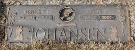 JOHANSEN, EFFIE C. - Yankton County, South Dakota | EFFIE C. JOHANSEN - South Dakota Gravestone Photos