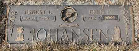 JOHANSEN, ERNEST L. - Yankton County, South Dakota | ERNEST L. JOHANSEN - South Dakota Gravestone Photos