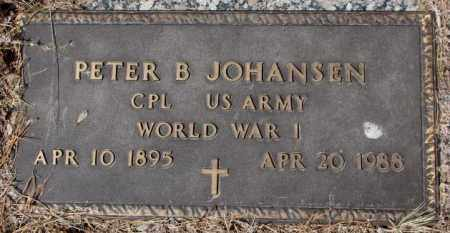 JOHANSEN, PETER B. - Yankton County, South Dakota | PETER B. JOHANSEN - South Dakota Gravestone Photos