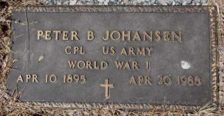 JOHANSEN, PETER B. - Yankton County, South Dakota | PETER B. JOHANSEN - South Dakota Gravestone Photos