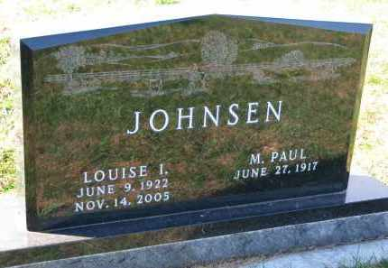 JOHNSEN, M. PAUL - Yankton County, South Dakota   M. PAUL JOHNSEN - South Dakota Gravestone Photos