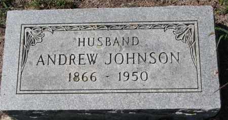 JOHNSON, ANDREW - Yankton County, South Dakota   ANDREW JOHNSON - South Dakota Gravestone Photos