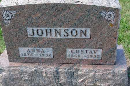 JOHNSON, GUSTAV - Yankton County, South Dakota | GUSTAV JOHNSON - South Dakota Gravestone Photos