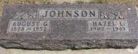 JOHNSON, AUGUST G. - Yankton County, South Dakota | AUGUST G. JOHNSON - South Dakota Gravestone Photos