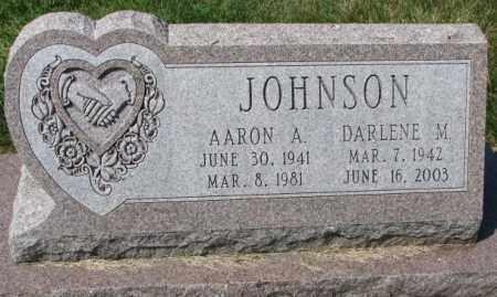 JOHNSON, AARON A. - Yankton County, South Dakota | AARON A. JOHNSON - South Dakota Gravestone Photos