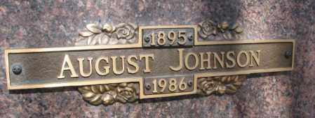 JOHNSON, AUGUST - Yankton County, South Dakota | AUGUST JOHNSON - South Dakota Gravestone Photos