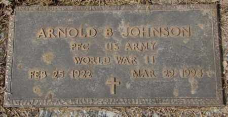 JOHNSON, ARNOLD B. (WW II) - Yankton County, South Dakota | ARNOLD B. (WW II) JOHNSON - South Dakota Gravestone Photos