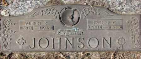 JOHNSON, ESTHER C. - Yankton County, South Dakota | ESTHER C. JOHNSON - South Dakota Gravestone Photos