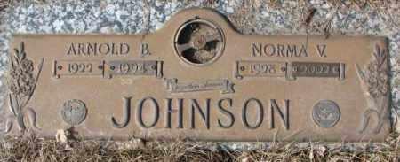 JOHNSON, NORMA V. - Yankton County, South Dakota | NORMA V. JOHNSON - South Dakota Gravestone Photos