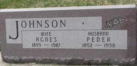 JOHNSON, PEDER - Yankton County, South Dakota | PEDER JOHNSON - South Dakota Gravestone Photos