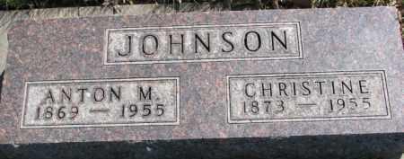 JOHNSON, ANTON M. - Yankton County, South Dakota | ANTON M. JOHNSON - South Dakota Gravestone Photos
