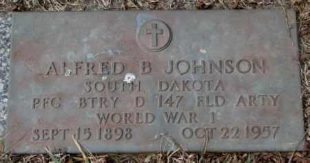 JOHNSON, ALFRED B. (WW I) - Yankton County, South Dakota | ALFRED B. (WW I) JOHNSON - South Dakota Gravestone Photos