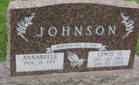 JOHNSON, LEWIS H. - Yankton County, South Dakota | LEWIS H. JOHNSON - South Dakota Gravestone Photos
