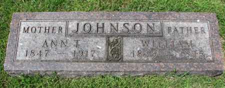 JOHNSON, WILLIAM - Yankton County, South Dakota | WILLIAM JOHNSON - South Dakota Gravestone Photos