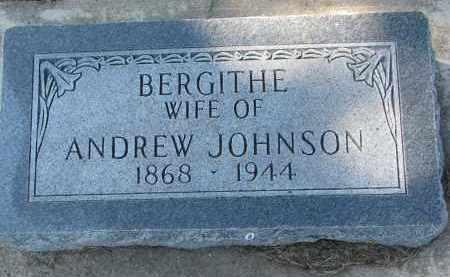 JOHNSON, BERGITHE - Yankton County, South Dakota | BERGITHE JOHNSON - South Dakota Gravestone Photos