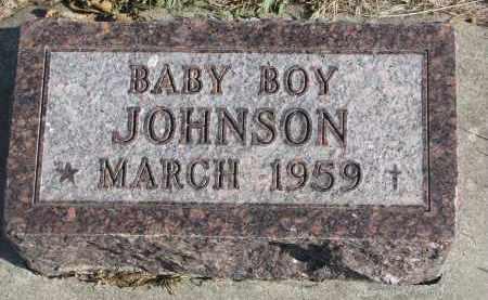 JOHNSON, BABY BOY - Yankton County, South Dakota | BABY BOY JOHNSON - South Dakota Gravestone Photos