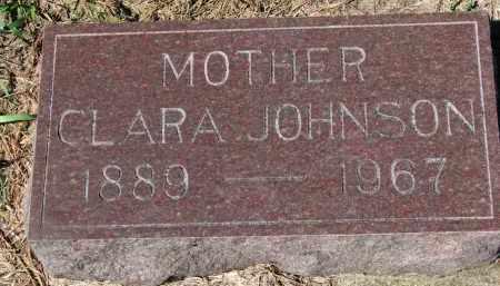 JOHNSON, CLARA - Yankton County, South Dakota   CLARA JOHNSON - South Dakota Gravestone Photos