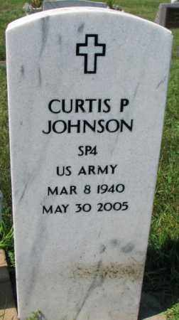 JOHNSON, CURTIS P. - Yankton County, South Dakota | CURTIS P. JOHNSON - South Dakota Gravestone Photos