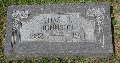 JOHNSON, CHAS. J. - Yankton County, South Dakota | CHAS. J. JOHNSON - South Dakota Gravestone Photos