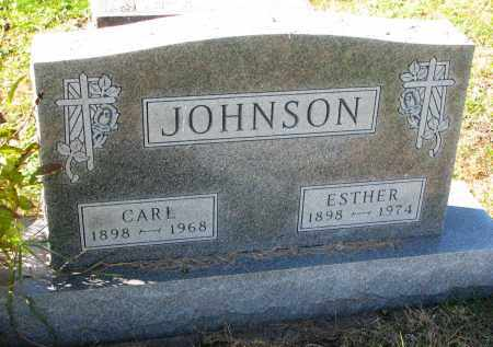 JOHNSON, ESTHER - Yankton County, South Dakota | ESTHER JOHNSON - South Dakota Gravestone Photos