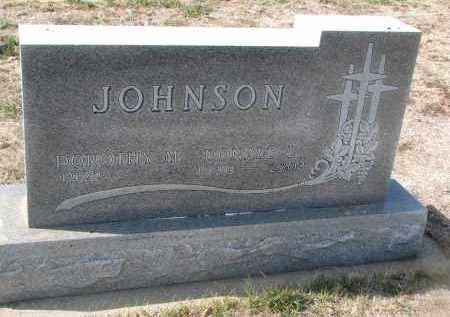 JOHNSON, DONALD L. - Yankton County, South Dakota | DONALD L. JOHNSON - South Dakota Gravestone Photos
