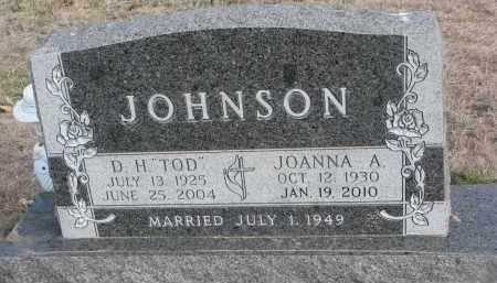 JOHNSON, JOANNA A. - Yankton County, South Dakota | JOANNA A. JOHNSON - South Dakota Gravestone Photos