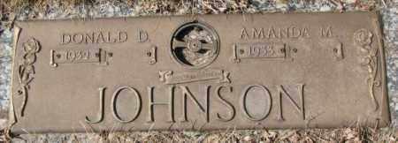 JOHNSON, DONALD D. - Yankton County, South Dakota | DONALD D. JOHNSON - South Dakota Gravestone Photos