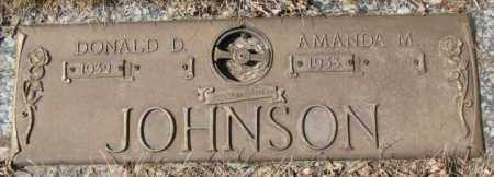 JOHNSON, AMANDA M. - Yankton County, South Dakota | AMANDA M. JOHNSON - South Dakota Gravestone Photos