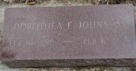 JOHNSON, DOROTHEA E. - Yankton County, South Dakota | DOROTHEA E. JOHNSON - South Dakota Gravestone Photos