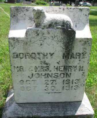 JOHNSON, DOROTHY MARY - Yankton County, South Dakota   DOROTHY MARY JOHNSON - South Dakota Gravestone Photos