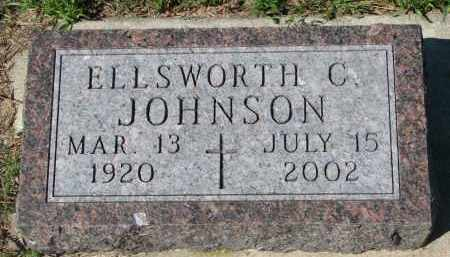 JOHNSON, ELLSWORTH C. - Yankton County, South Dakota | ELLSWORTH C. JOHNSON - South Dakota Gravestone Photos