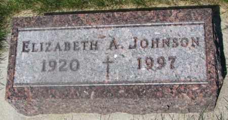 JOHNSON, ELIZABETH A. - Yankton County, South Dakota   ELIZABETH A. JOHNSON - South Dakota Gravestone Photos