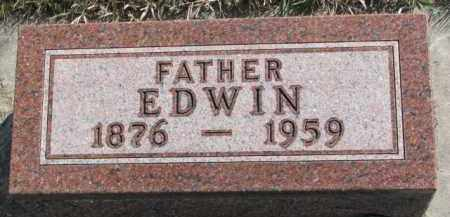 JOHNSON, EDWIN - Yankton County, South Dakota | EDWIN JOHNSON - South Dakota Gravestone Photos