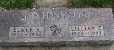 JOHNSON, LILLIAN C. - Yankton County, South Dakota | LILLIAN C. JOHNSON - South Dakota Gravestone Photos