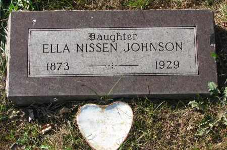 JOHNSON, ELLA - Yankton County, South Dakota   ELLA JOHNSON - South Dakota Gravestone Photos