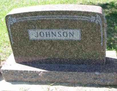 JOHNSON, FAMILY STONE - Yankton County, South Dakota   FAMILY STONE JOHNSON - South Dakota Gravestone Photos