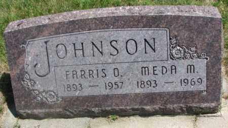 JOHNSON, MEDA M. - Yankton County, South Dakota | MEDA M. JOHNSON - South Dakota Gravestone Photos