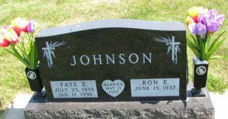 JOHNSON, FAYE E. - Yankton County, South Dakota | FAYE E. JOHNSON - South Dakota Gravestone Photos