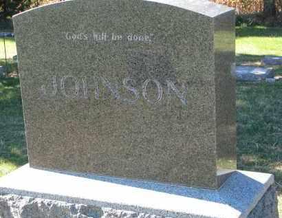 JOHNSON, FAMILY STONE - Yankton County, South Dakota | FAMILY STONE JOHNSON - South Dakota Gravestone Photos