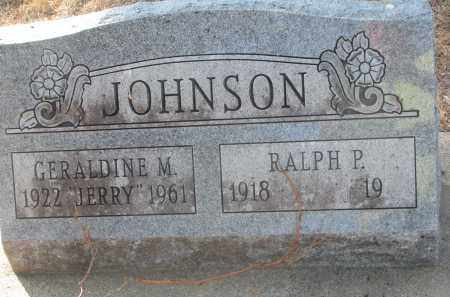 JOHNSON, GERALDINE M. - Yankton County, South Dakota   GERALDINE M. JOHNSON - South Dakota Gravestone Photos