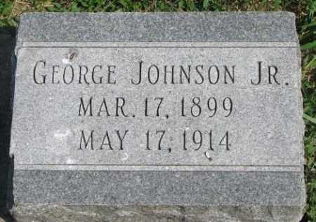 JOHNSON, GEORGE JR. - Yankton County, South Dakota | GEORGE JR. JOHNSON - South Dakota Gravestone Photos