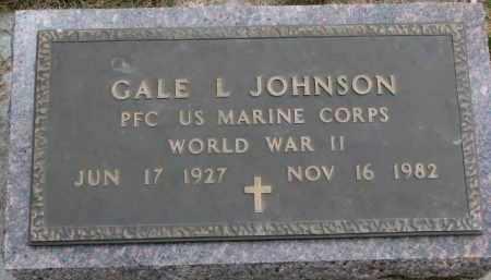 JOHNSON, GALE L. (WW II) - Yankton County, South Dakota | GALE L. (WW II) JOHNSON - South Dakota Gravestone Photos