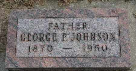 JOHNSON, GEORGE P. - Yankton County, South Dakota | GEORGE P. JOHNSON - South Dakota Gravestone Photos