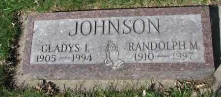 JOHNSON, GLADYS I. - Yankton County, South Dakota | GLADYS I. JOHNSON - South Dakota Gravestone Photos