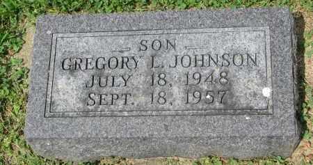 JOHNSON, GREGORY L. - Yankton County, South Dakota   GREGORY L. JOHNSON - South Dakota Gravestone Photos